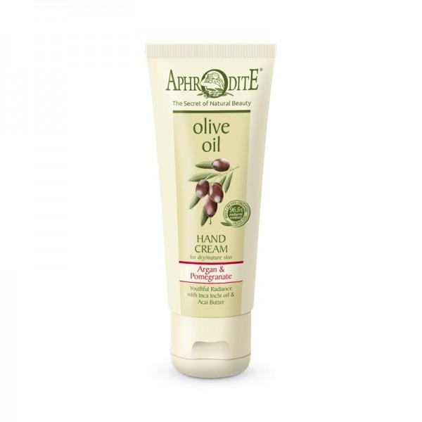 APHRODITE Youthful Radiance Hand Cream with Argan & Pomegranate 75ml / 2.53 fl oz