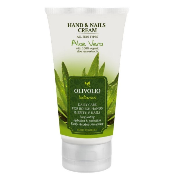 Olivolio Aloe Vera Hand & Nails Cream 150 ml