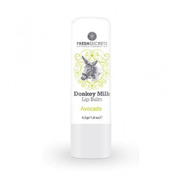 Fresh Secrets Lipbalm with Donkey milk & Avocado 4,5 gr