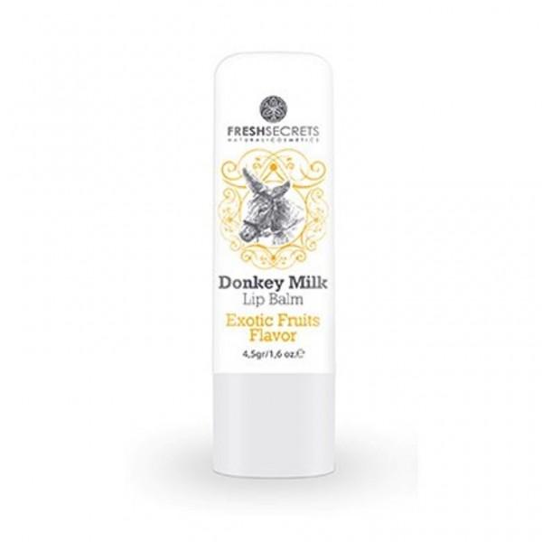 Fresh Secrets Lipbalm with Donkey milk & Exotic Fruits 4,5 gr