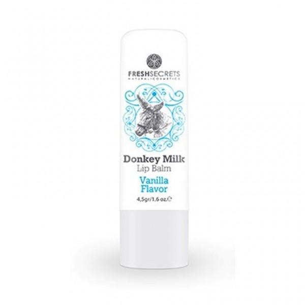 Fresh Secrets Lipbalm with Donkey milk & Vanilla 4,5 gr