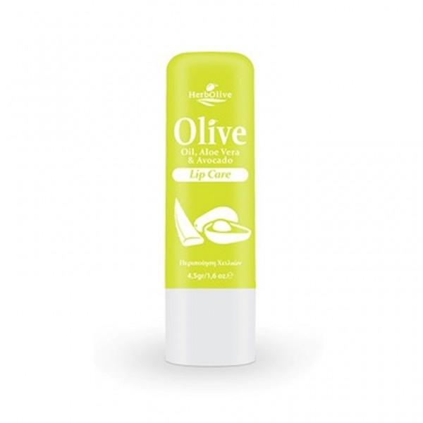 Herbolive Lip Balm With Aloe Vera& Avocado 4,5 gr