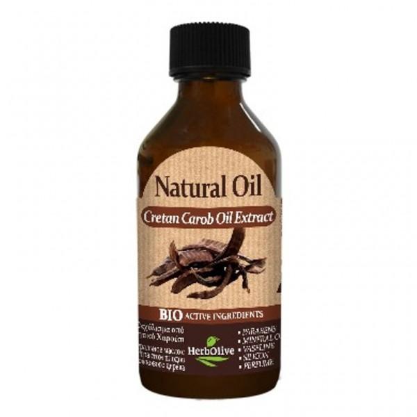 Herbolive Natural Cretan CarobE xtract Oil 100 ml