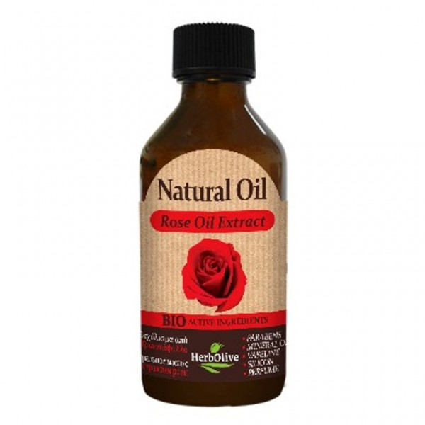 Herbolive Natural Rose Extract Oil 100 ml