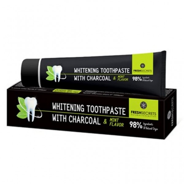 Fresh Secrets Toothpaste With Charcoal & Mint 75 ml