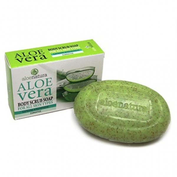 Aloe Natura Body Scrub Soap For All Skin Types 90 gr