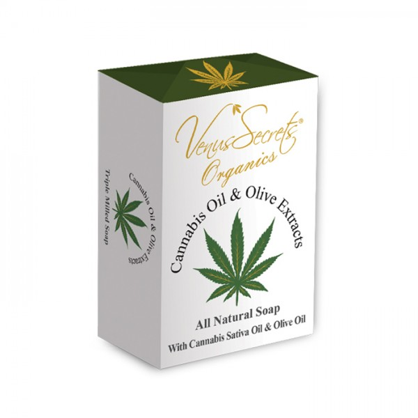 Soap Cannabis Oil and Olive Extracts 150g