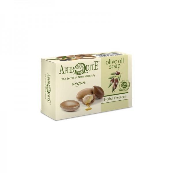 APHRODITE Olive oil soap with argan 100g / 3.38 oz