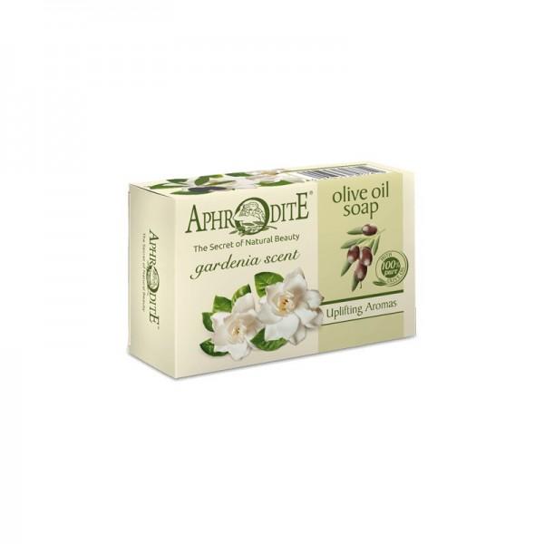 APHRODITE Olive oil soap with Gardenia scent 100g / 3.38 oz