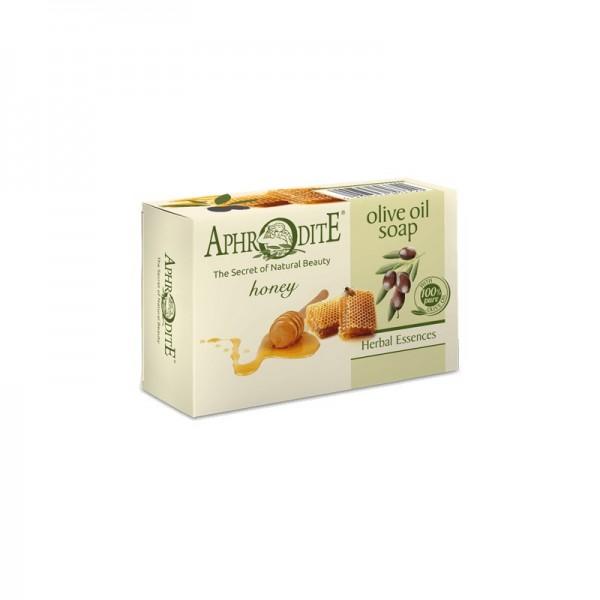 APHRODITE Olive oil soap with Honey 100g / 3.38 oz