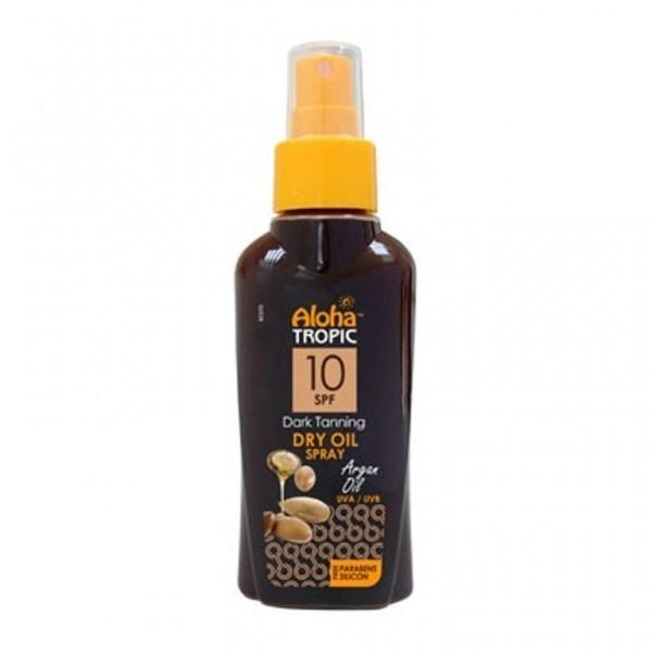 Aloha Tropic Dark Tanning Micro Argan Oil Spf 10 100 ml