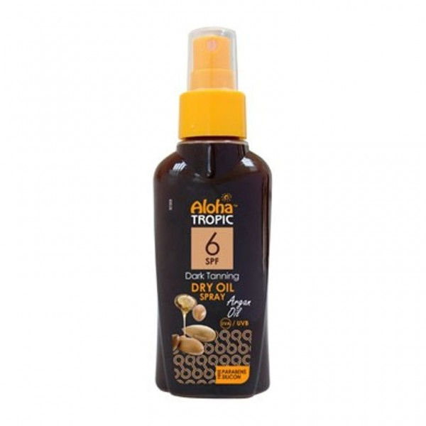 Aloha Tropic Dark Tanning Micro Argan Oil Spf 6 100 ml