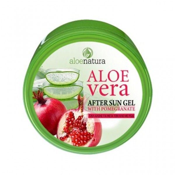 Aloe Natura After Sun Gel Aloe Vera & Pomegranate 200 ml