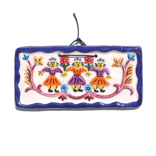 Handmade Ceramic Plaque