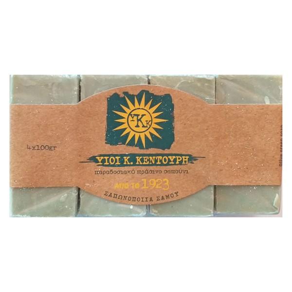 Pure olive oil soap fragrance free set 4 x 100gr