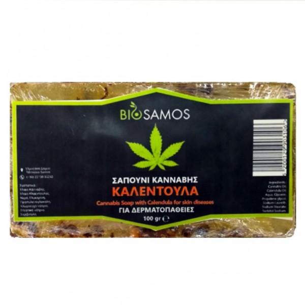 Cannabis Soap with Calendula 100gr