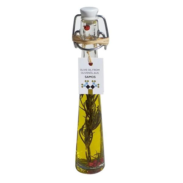 Agasto Extra Virgin Samos Olive Oil with herbs 40 ml