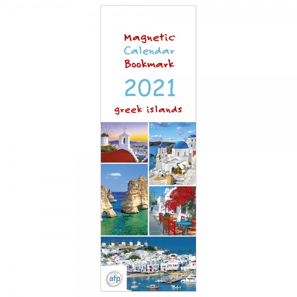 Magnetic Calendar Greek Islands