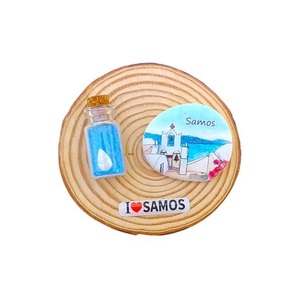 Fridge Magnet Samos