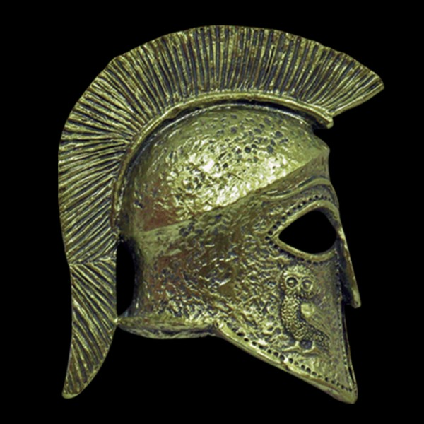 Fridge Magnet Ancient Greek Helmet