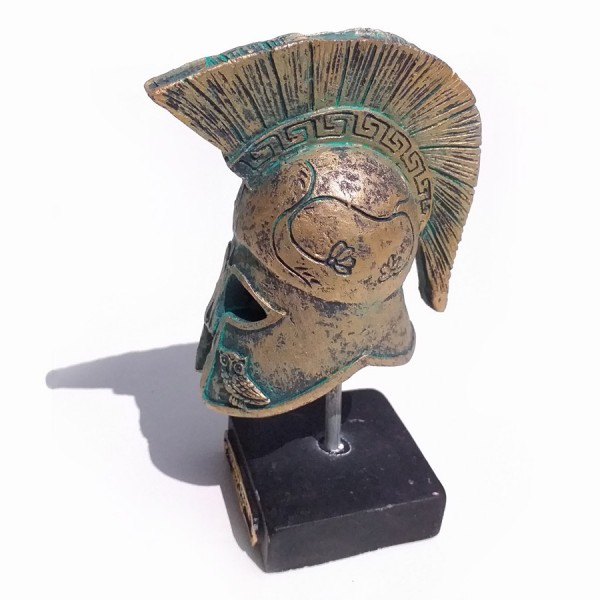 Ancient Greek Helmet Miniature