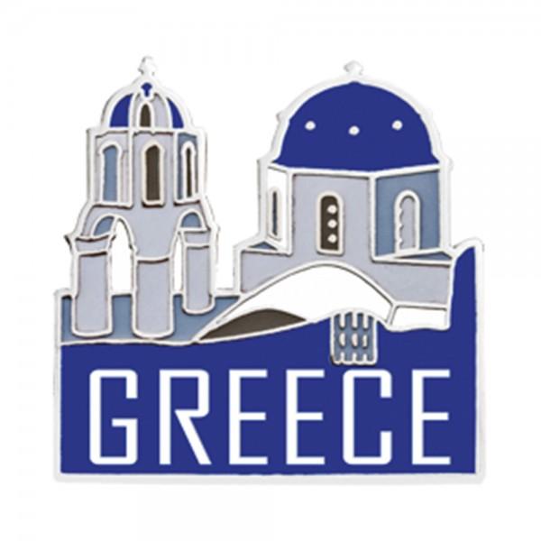 Metal Pin Greece