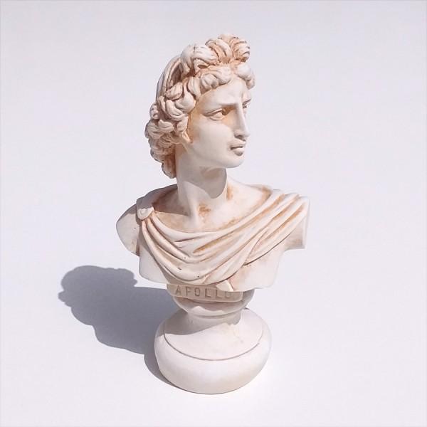 Greek Plaster Statue of Apollo