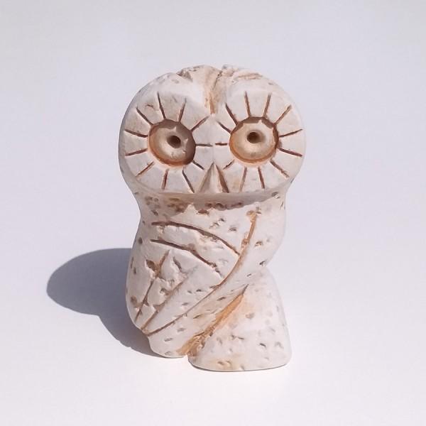 Greek Plaster Statue of Owl