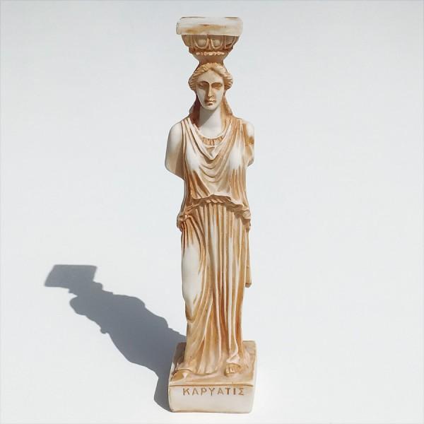 Greek Plaster Statue of Caryatis