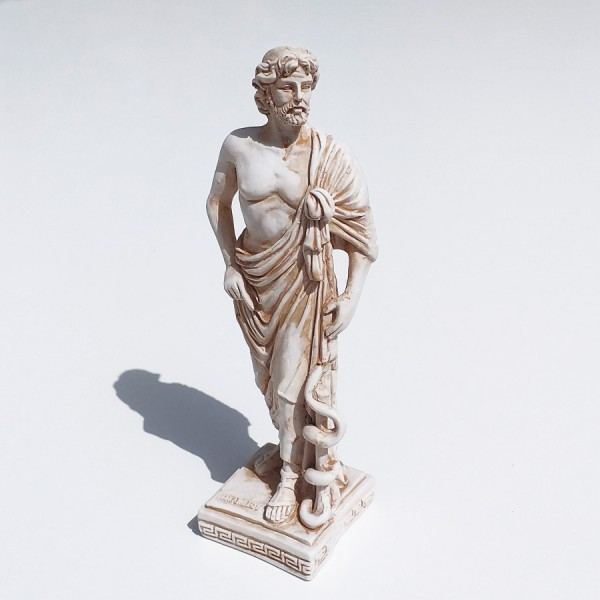 Greek Plaster Statue of Asclepius