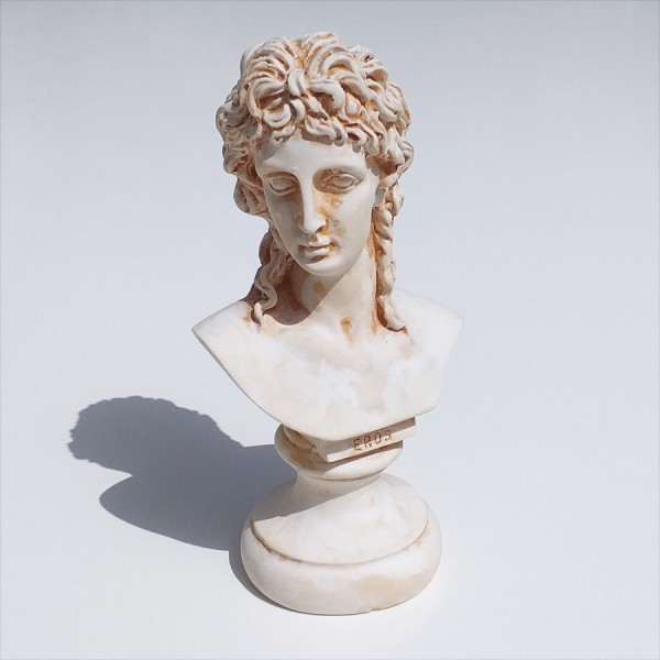 Greek Plaster Statue of Eros