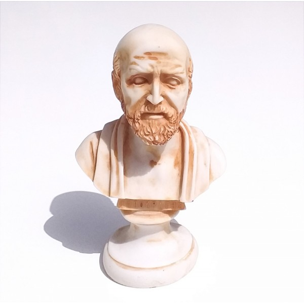 Greek Plaster Statue of Hippocrates