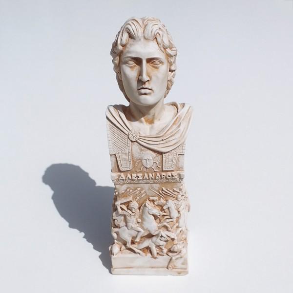 Greek Plaster Statue of Alexander the Great