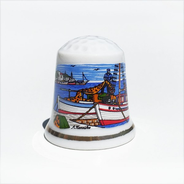 Porcelan Thimble Samos
