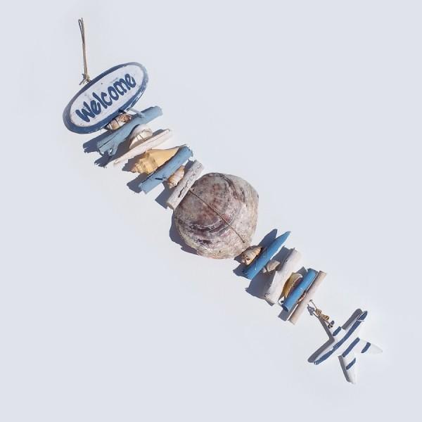Girlande made of natural materials