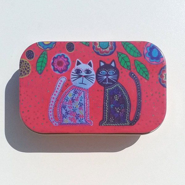 Olive oil soap in tin box