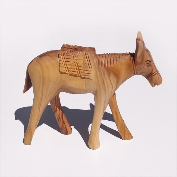 Olive Wood Donkey