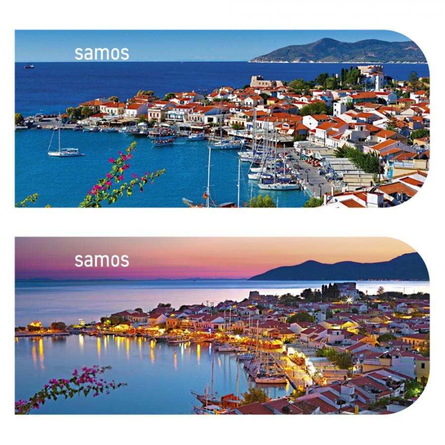 Magnetic Bookmark Samos