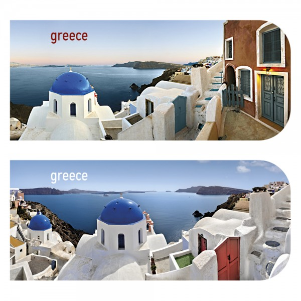 Magnetic Bookmark Greece