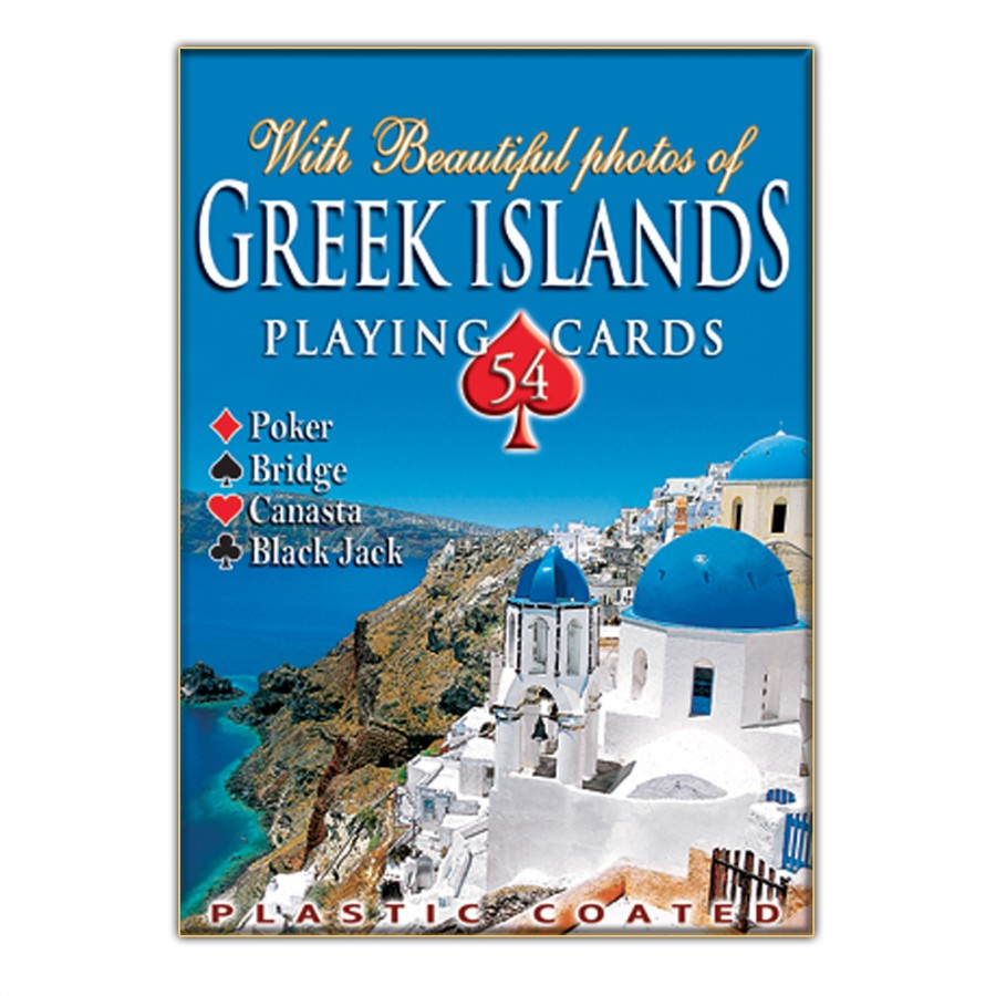 Playing Cards Greek Islands