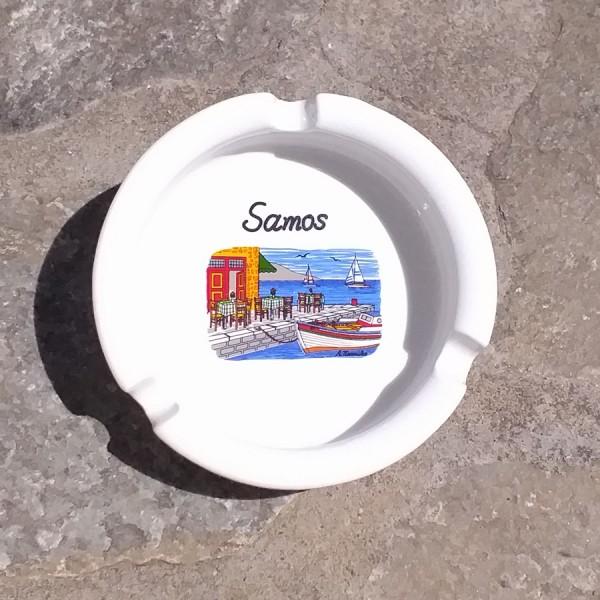 Porcelan Ashtray Samos