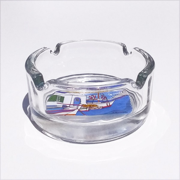 Glass Ashtray Samos